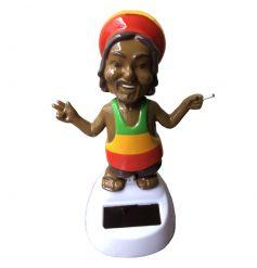 Funky grooving Rasta man