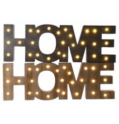 2 Assorted LED home sign