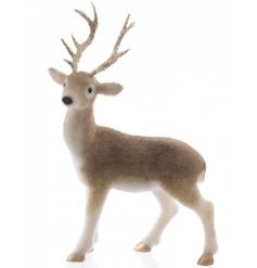 Large Gold Reindeer Standing 36cm
