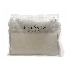 75g bag of fine artificial snow.