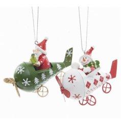 Santa/Snowman Plane, 2a