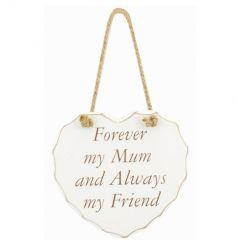 From the popular Heart Sentiment range, a wooden heart plaque