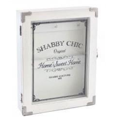 Classic white key cabinet from the shabby and chic collection