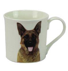 Cute German Shepard mug