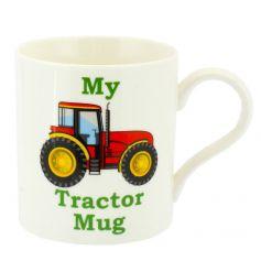 Bone china mug with My Tractor design