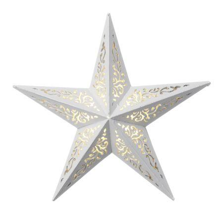 Decorative 5 Point Star W/led
