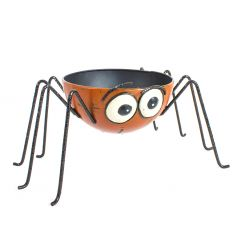 A fun and quirky spider bowl, perfect for stuffing with treats and creepy crawlies.