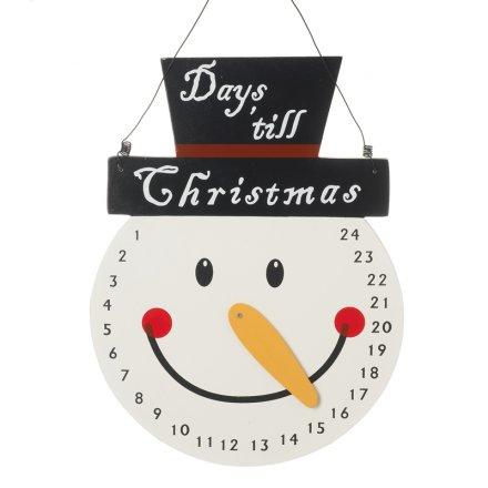 Christmas Snowman Countdown