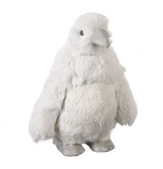 An extremely soft to touch plush penguin decoration. A must have this season.