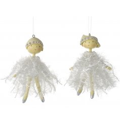 Adorable dancing ballerina tree hangers. A must have for little girls this season!