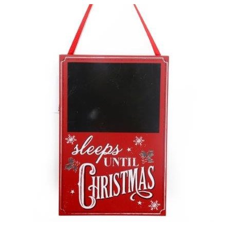 Days Till Christmas Chalkboard.Xvs0038 Sleeps Until Christmas Chalkboard 29119