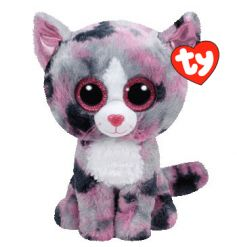Soft TY Lindi cat from the Beanie Boo collection