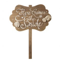 Here Comes The Bride Stake 60cm