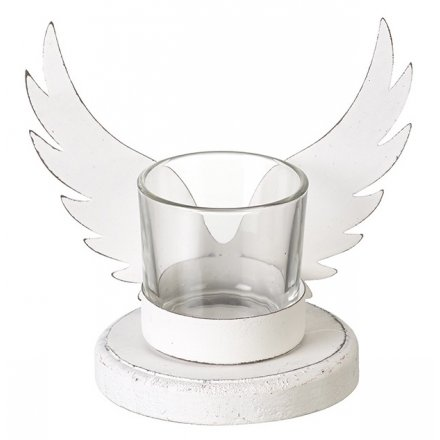 Angel T-Light Holder, 13cm