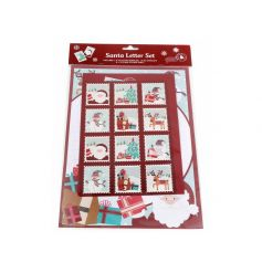An essential for kids this season! A fabulous Santa letter writing set with an assortment of stamps.