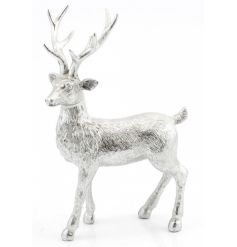 A stunning silver reindeer figure creating that wow factor this season.
