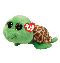 From the high quality TY range, Zippy Turtle toy from the Beanie Boo collection