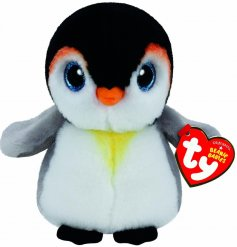 Cute Pongo Penguin soft toy from the high quality TY collection