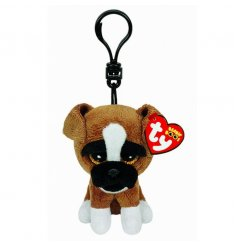 A loveable TY beanie boo clip perfect for bags, keys and prams. A fine quality plush item.