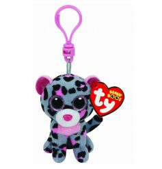 A plush fabric TY Beanie Boo clip. Great for prams, bags and keys.