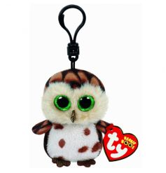 A fine quality plush Beanie Boo clip. Great for bags, keys and prams. A lovely item for little fingers to discover and e