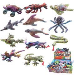 An assortment of beautifully coloured glitter sand animals. The prefect pocket money toy!