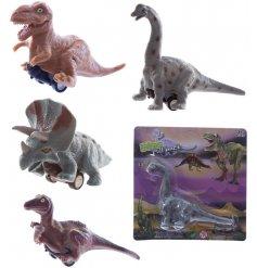 Funny pullback dinosaur on wheels, a fun pocket money gift
