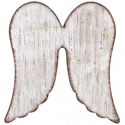 LED Angel Wings Wall Decoration, 40cm