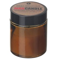 Natural wax scented balm features a subtle fresh scent to clear any odours next to your best brother