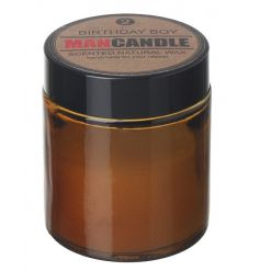 natural wax scented balm features a subtle fresh scent to clear any odours next to the birthday boy