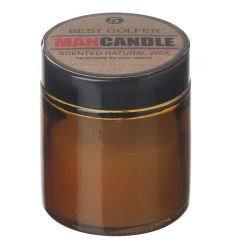 natural wax scented balm features a subtle fresh scent to clear any odours next to the best golfer