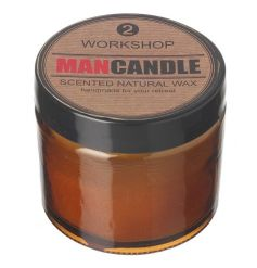 natural wax scented balm features a subtle fresh scent to clear any odours in any mans workshop