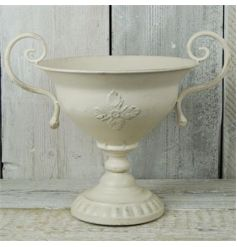 antique and elegant trophy shaped urn