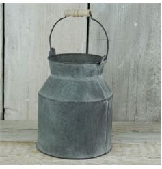 Vintage Distressed Churn
