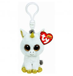 Cute clip Pegasus soft toy from TY