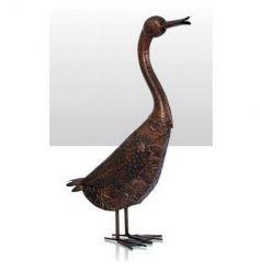 Decorative duck garden figurine