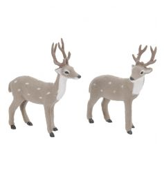 Cute fuzzy reindeer mix for your winter wonderland