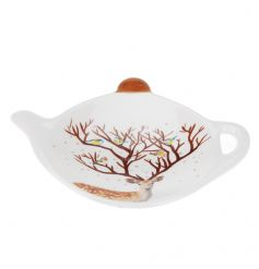 A practical and stylish teabag tidy with woodland reindeer design. A great stocking filler.