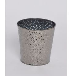 Medium Silver Candle Holder