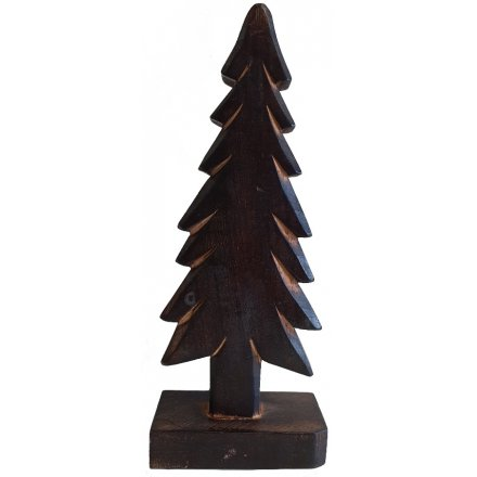 Dark Tree Decoration 29cm
