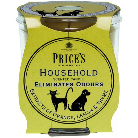Household Prices Candle Jar