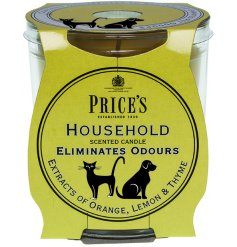 Household scented candle jar from the Prices collection