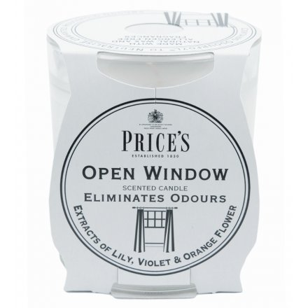 Open Window Prices Candle Jar