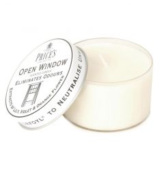 An open window fragranced candle from the high quality Prices collection