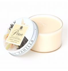 Sweet Vanilla scented candle from the Prices collection