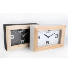 Wooden Square Clocks