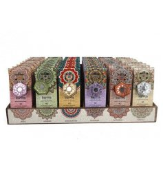 Pack of 40 incense cones and ash catcher