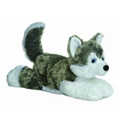 Cute 12 in Husky Soft Toy Shadow