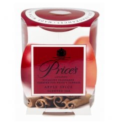 Prices Apple Spice Scented Candle Jar