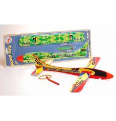 Stunt jets air force plane glider toy